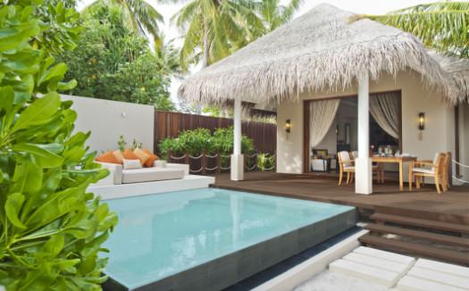 Private pool villa at ayada