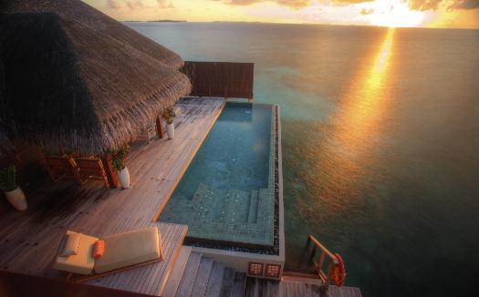 Royal suite at ayada maldives