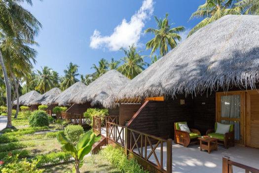 Garden villa at Bandos Maldives