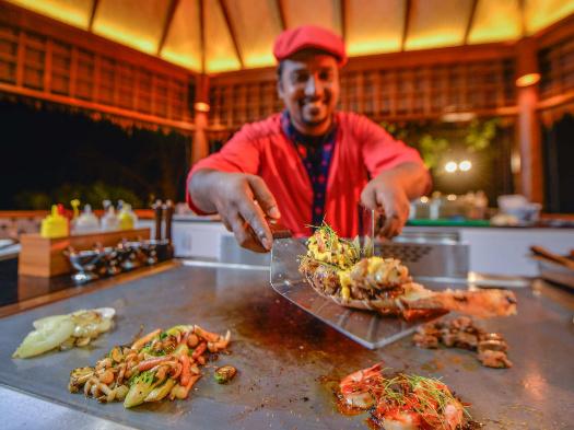 Seafood chef