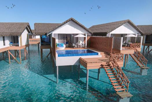 Cora Cora over water villa