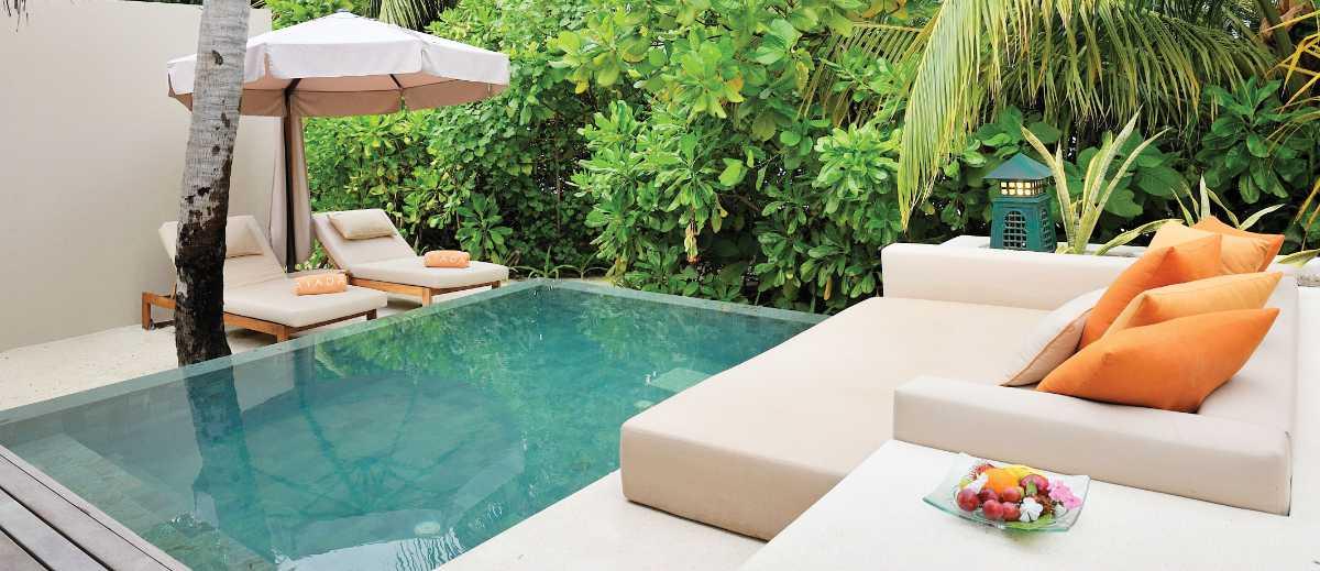 Muslim-friendly private pool at Ayada Maldives