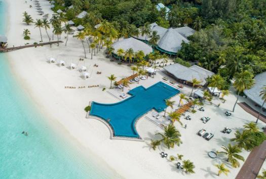 Aerial shot of Kihaa Maldives