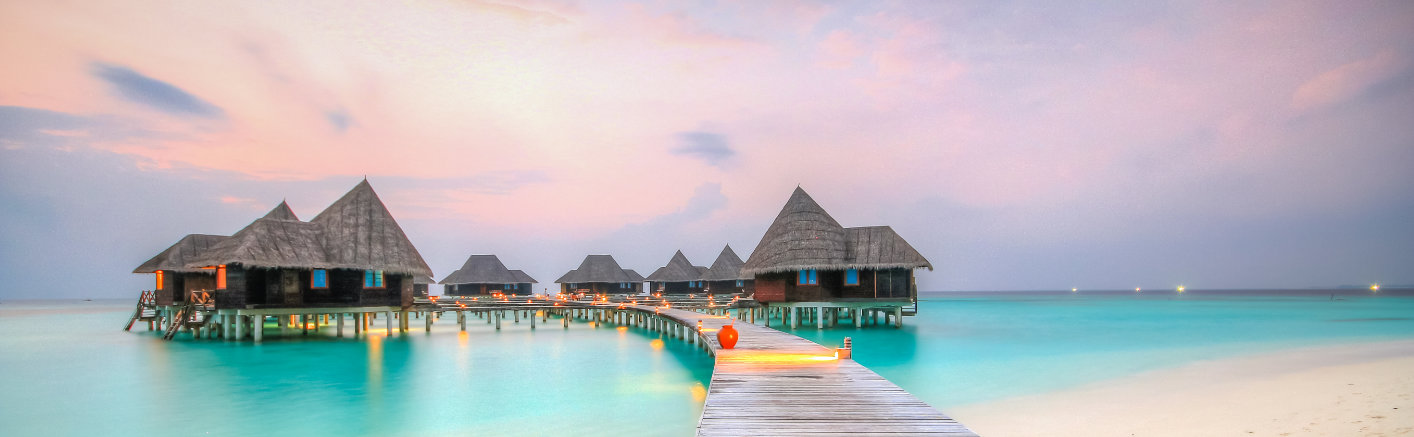 Sunset set in Coco Palm Maldives