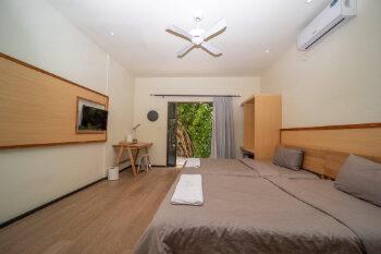 Beach room in Rasdhoo Dive Lodge